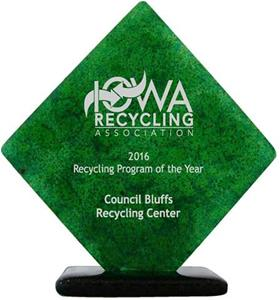 2016 Recycling Award
