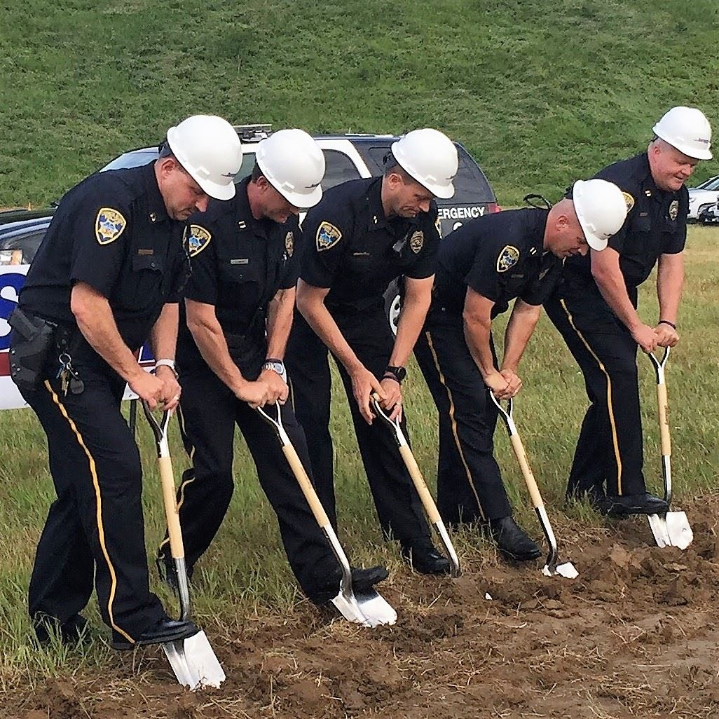 Police Department Ground Breaking
